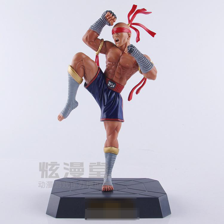 23cm LOL the Blind Monk Lee Sin Kicks Animation Cartoon Game Action Figure PVC Model Toy Doll Decoration(China (Mainland))