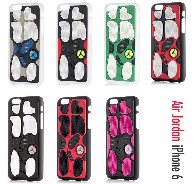 1PCS Air Jordan sneakers Sole PVC Rubber phone Case For iPhone 5/5S Case Phone Housing free shipping(China (Mainland))