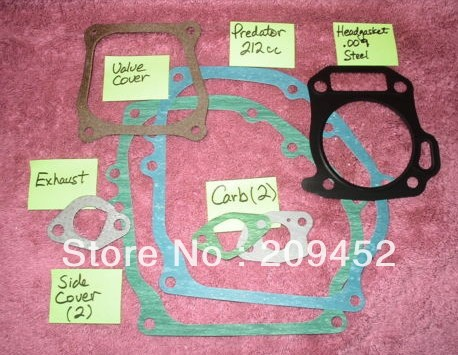 210FA 7hp 212cc Gasoline Engine Parts- Gasket Set One<br><br>Aliexpress
