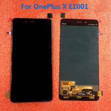 Black/white e1001 Full LCD Display + Touch Screen Digitizer Assembly For OnePlus X E1001 Phone1920*1080 5.5″