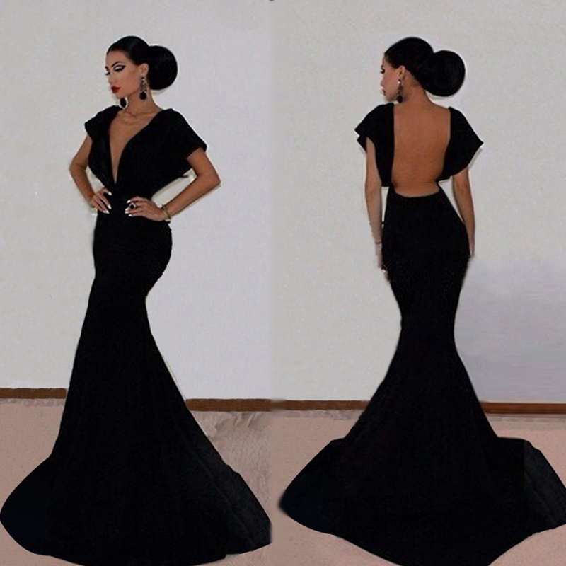 Вечернее платье Brand New V Vestidos Vestidos Largos Women's Dress вечернее платье the covenant of sexy goddess elie saab 2015 vestidos largos evening dresses