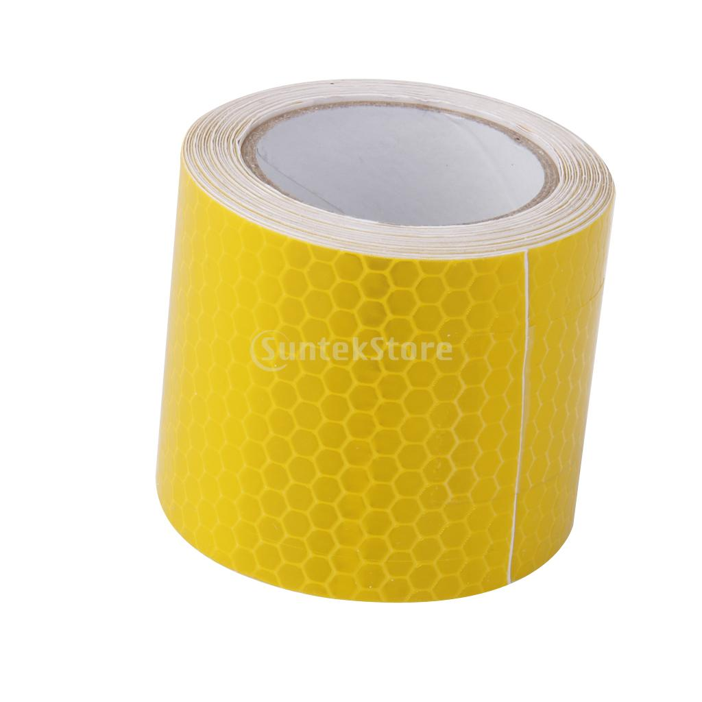Yellow High Intensity Reflective Tape Sticker Self Adhesive Vinyl 5cm*3m<br><br>Aliexpress