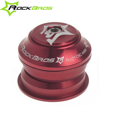 "2013 New RockBros MTB Road Bike Semi-Integrated Threadless Bicycle Headsets Sealed Cartridge Bearings Red 1 1/8""(China (Mainland))"