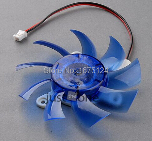 Replace For Computer PC VGA Video Card Heatsink Cooler Cooling Fan 75mm 12V 2-Pin(China (Mainland))