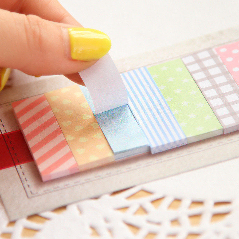 2 Pcs/Lot Cute Kawaii 160 Pages Sticker Post It Bookmark Point It Marker Memo Flags Sticky Notes Scrapbooking Sticker Paper(China (Mainland))