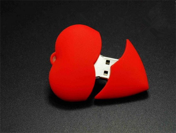 wedding gift red heart special gift for lovers usb flash drive USB 2.0 flash memory stick pen drive usb stick disk S899(China (Mainland))