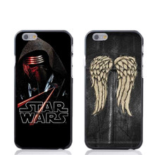 Fashion Walking Dead Daryl Dixon Hard Case iPhone 4 4s 4g 5 5s 5c 6 6s 6Plus Star Wars R2D2 Robot phone cover - Phone Shell Store /retail store