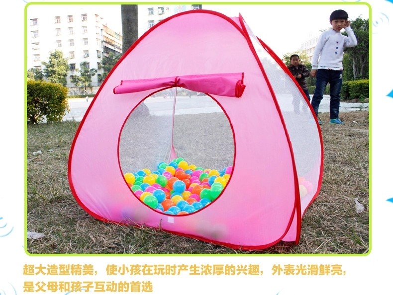 Free shipping Childern Kids Playing Indoor Outdoor Pop Up House Kids Play Game Kids Tent child Independent Toy Tent(China (Mainland))