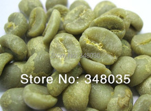 100% Original High Quality Brazil roasted Green Coffee Beans organic food for weight loss  Green Slimming Coffee