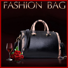 Serpentina Crossbody piel suave bolsos de mujer enorme capacidad cuero alta calidad moda mujeres Messenger Bags Bolsas 4 colores
