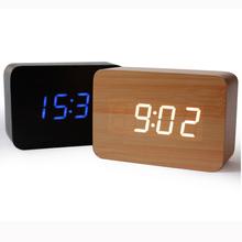 Часы электронные настольные с датчиком температуры и звуковым оповещением