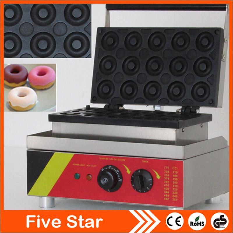 mini donut machine;machine make donut 15 pieces NP-6(China (Mainland))