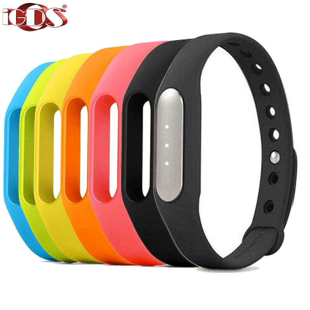 Original Xiaomi mi band Bracelet MiBand Bluetooth IP67 Waterproof Smart Wristband for Android 4.4 Phones Mi3 Mi4 Redmi Note 4G(China (Mainland))