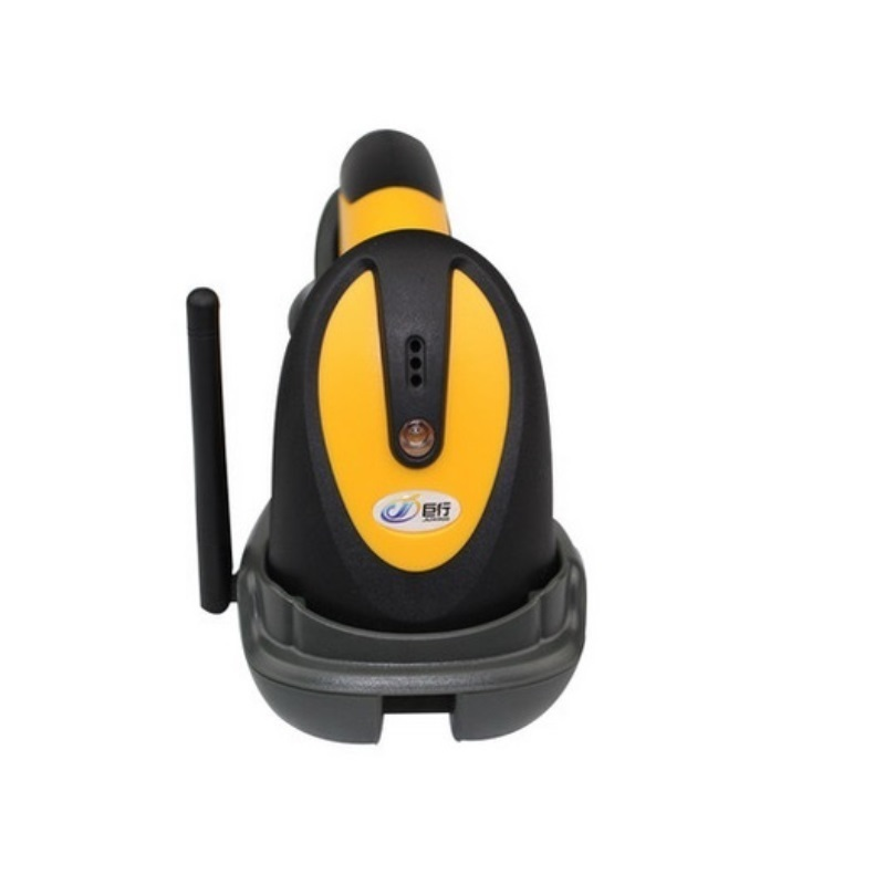 433MHz Wireless CCD barcode scanner portable barcode reader scanner gun with base charger and receiver in one for DHL Fedex EMS(China (Mainland))