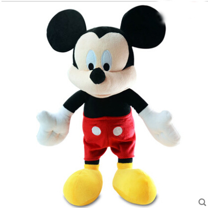 Mickey Mouse Original Toys Mickey Plush Toys Cute Stuffed Animals Minie Mickey Pelucia Kids Toys for Children 25cm(China (Mainland))