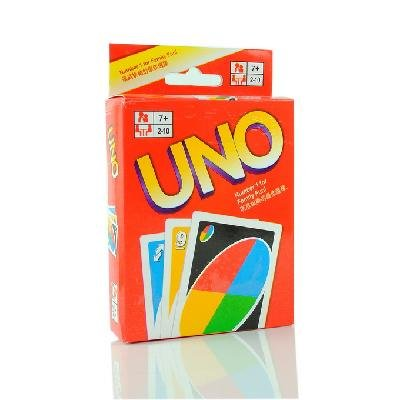 New UNO Card Game Playing Card Family Fun Updated Version(China (Mainland))