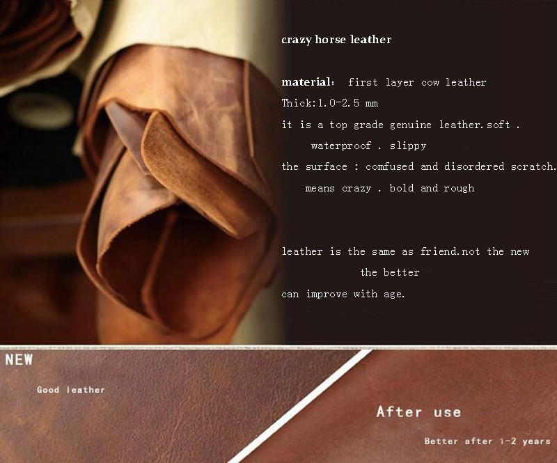 crazy leather