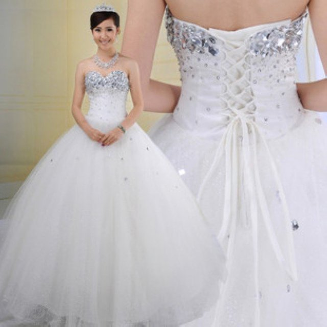 Best Selling Freeshipping !! 2011 New Debut Gorgerous Shinning diamond A-Line bridal wedding dress,bridal gown bridal dress