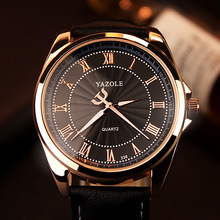 YAZOLE Quartz Watch Men Top Brand Luxury Famous 2016 Wristwatch Male Clock Wrist Watch Business Quartz
