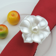 Flowers Napkin Rings Table Decoration