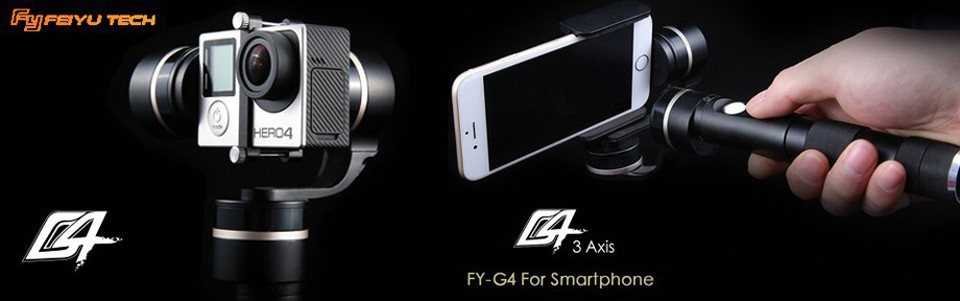 In Stock!!! Factory Guarantee Feiyu Tech Newest G4 3 Axis Handheld Gimbal