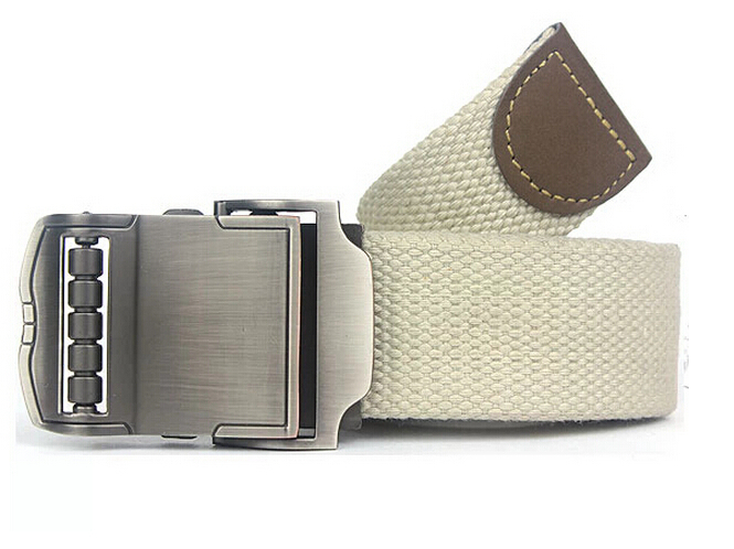 2014 New Men Brand Canvas Belts High Quality Male Strap Military Belt Men s Canvas Belt