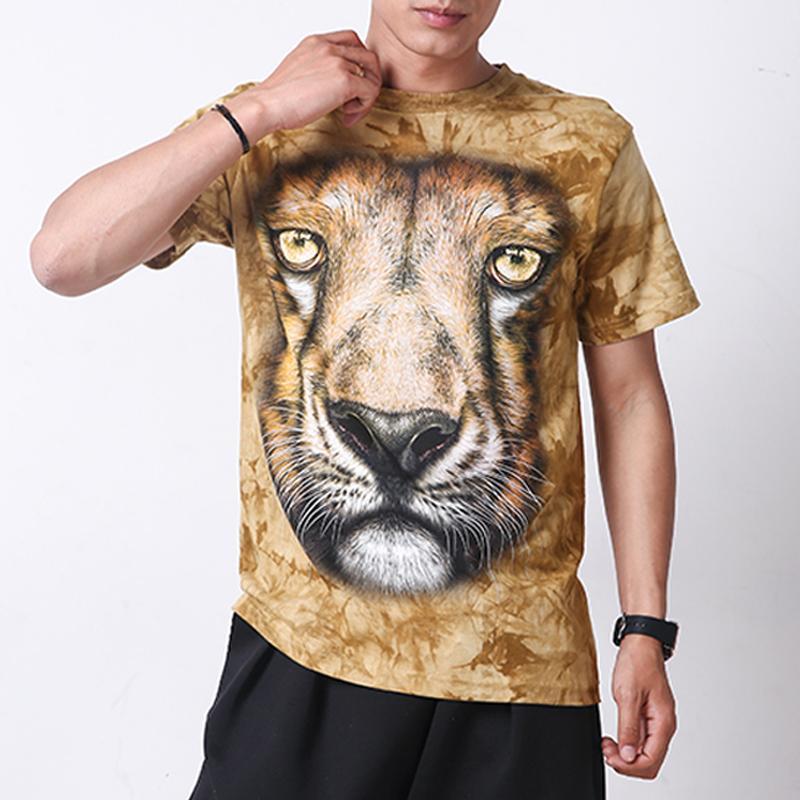 HTB1yuIOJpXXXXaEXFXXq6xXFXXXW - 2017 Men 3D T Shirt Animal Short Sleeves Cotton O-Neck Tiedye Personalized T-Shirt Water Printed Tee Shirts T-Shirts Clothes A8