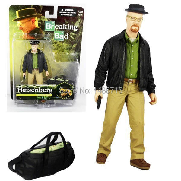 "Hot Sale Popular TV Series AMC Breaking Bad Walter White - Heisenberg 6.5"" Action Figure Mezco For Collection(China (Mainland))"