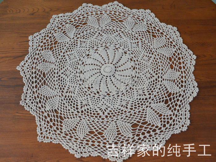 Crochet chemin de table promotion achetez des crochet - Chemin de table pour table ronde ...