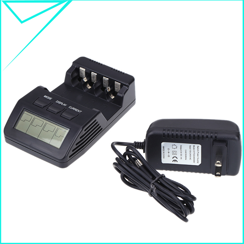 BM110 Intelligent Digital Battery Charger Tester LCD Multifunction for 4 AA AAA Rechargeable LCD smart charger(China (Mainland))