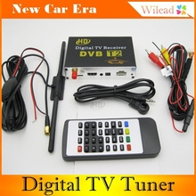 New arrival!  Mobile Car H.264 MPEG4 DVB-T2 Digital TV Tuner HD Receiver BOX For Russia(China (Mainland))