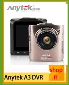 Original Anytek AT66A Car DVR full HD Novatek 96650 Car Camera Recorder Black Box 170Degree 6G Lens Supper Night Vision Dash Cam