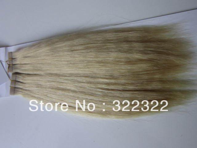 Hot!!3 pcs /lot ,make a full head, #613, 8-32,yaki straight,100 virgin human hair weaving  free shipping<br><br>Aliexpress