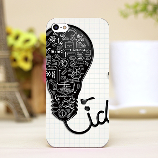 pz0022-26 bulb Design Customized cellphone casess For iphone 4 5 5c 5s 6 6plus Shell Hard transparent Skin Shell cover cases(China (Mainland))