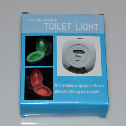 Sex Furnitures LED Sensor Motion Activated Sex  Adult Games Sex Toilet Light Bathroom  Toilet Lamp Battery-Operated Night Light