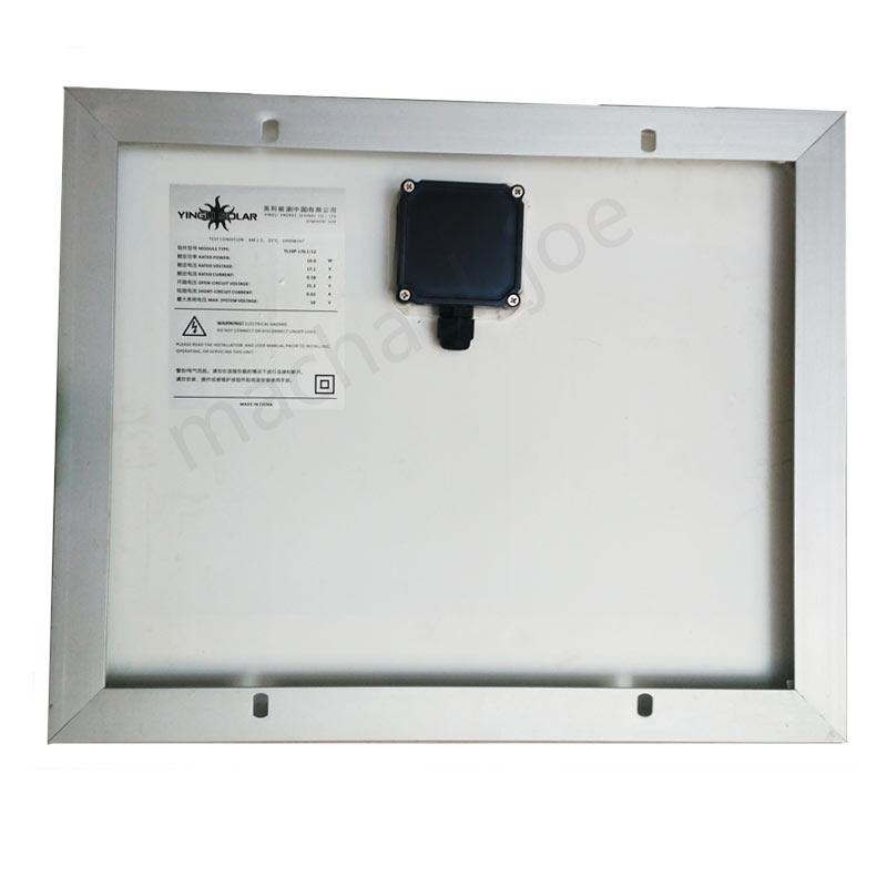 Manufacturers 10w watt 12V volt solar panels A -level components yinglisolar Baoding spot(China (Mainland))