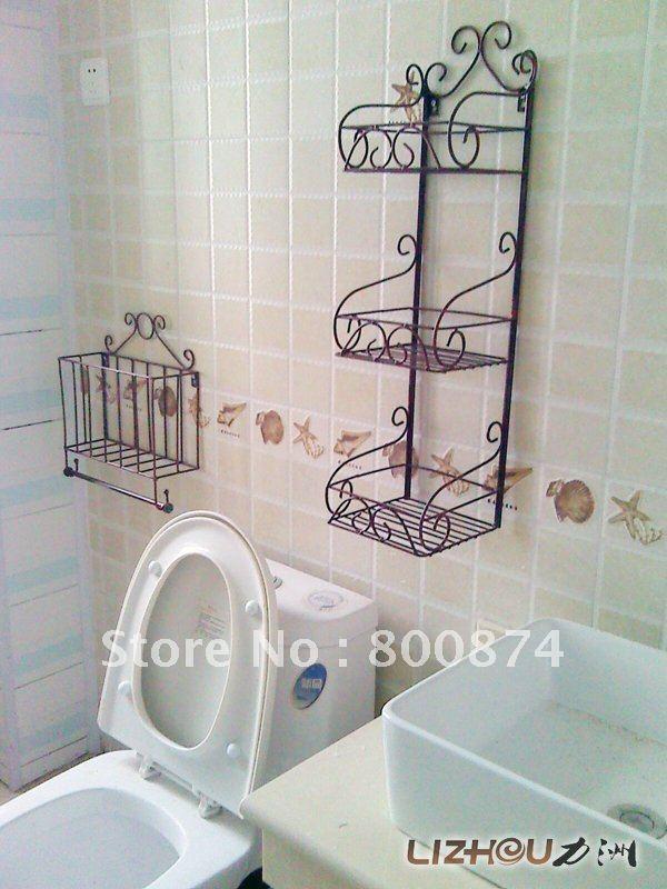 european white bathroom wall shelves on. Black Bedroom Furniture Sets. Home Design Ideas