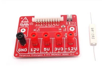 ATX breakout board bench power supply multi-channel power controller(China (Mainland))