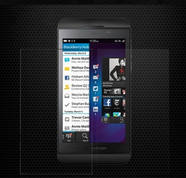 Explosion-proof Ultra Premium Tempered Glass Screen Protector For BlackBerry Z10 With Retail Package Free Shipping