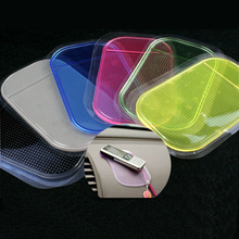Useful New Portable practical Silicone Skin Mat Car Mat sticky pad Antiskid Mat Non-slip Mat Holder 1pc Per Set For All The Car(China (Mainland))
