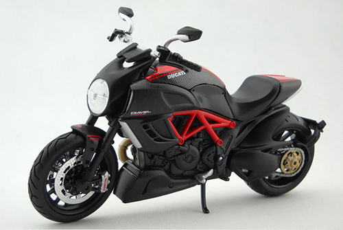 DUCATI Diavel 1:12 scale models Alloy motorcycle racing model motorcycle model Toys Toy motorcycle(China (Mainland))