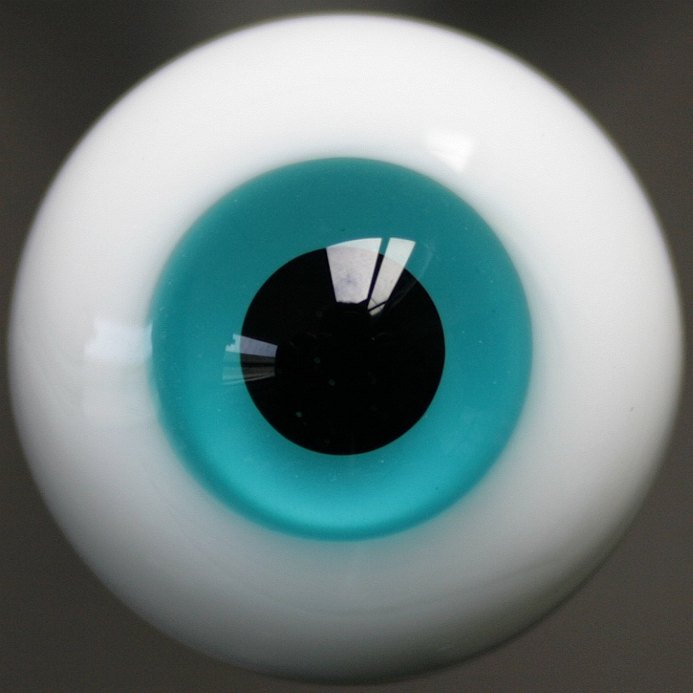 [wamami] 49# 12mm Blue & Black Pupil Eyes For BJD AOD DOD Doll Dollfie Glass Eyes Outfit(China (Mainland))