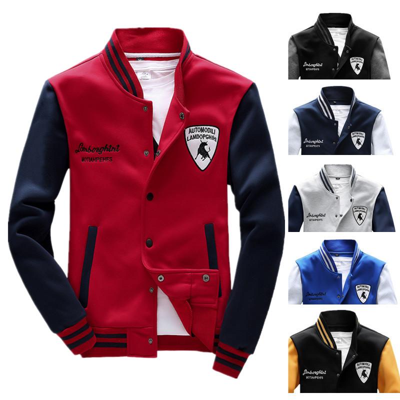 Men hoody sweatshirt spring autumn casual slim fit hoodies men tracksuit colorful baseball sweatsuit men sport suit men out coat(China (Mainland))