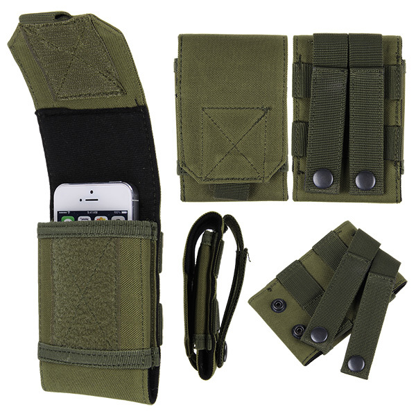 Outdoor Sport Military Mobile Cell Phone Bag Pouch Carrying Cover Case Pocket(China (Mainland))