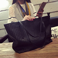 2016 spring and summer new large capacity shopping bag woven bag large tote bag wild hand