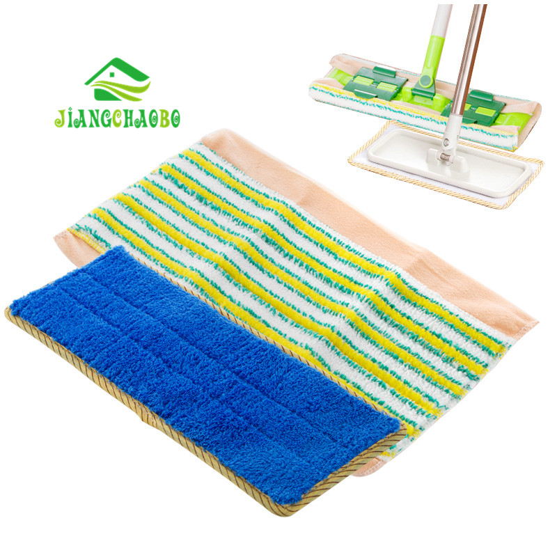JiangChaoBo Replacement Pad For Flat Mop Mops Floor Cleaning Pad Chenille Flat Mop Head Replacement Refill Head To Floor Mops(China (Mainland))