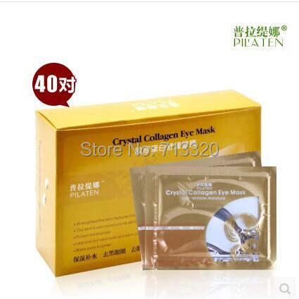 PILATEN crystal collagen eye mask Anti-wrinkle-moisture 100% original<br><br>Aliexpress
