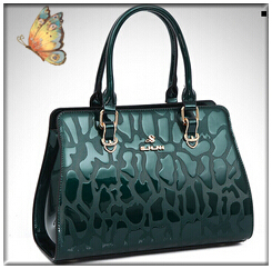 NO.1 2015 Genuine Leather Handbags Tassel Bolsas Femininas OL Brand Patent Leather Handbags Shoulder Women Messenger Bags Clutch<br><br>Aliexpress