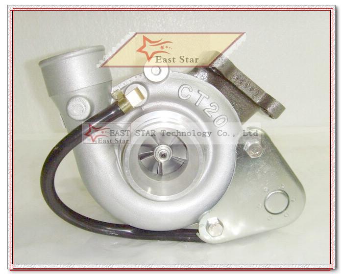 CT20 17201-54060 17201 54060 Turbo Turbocharger For TOYOTA H12 HI-ACE 1995-98 HI-LUX 97-98 Land cruiser 91-98 2L-T 2LT 2.4L 2.5L (5)