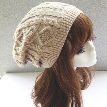 2015 New Turban Knitted Cap Female Twist Winter Hat Skullies Beanies Hats for Women chapeu feminino Toucas De Inverno M0504